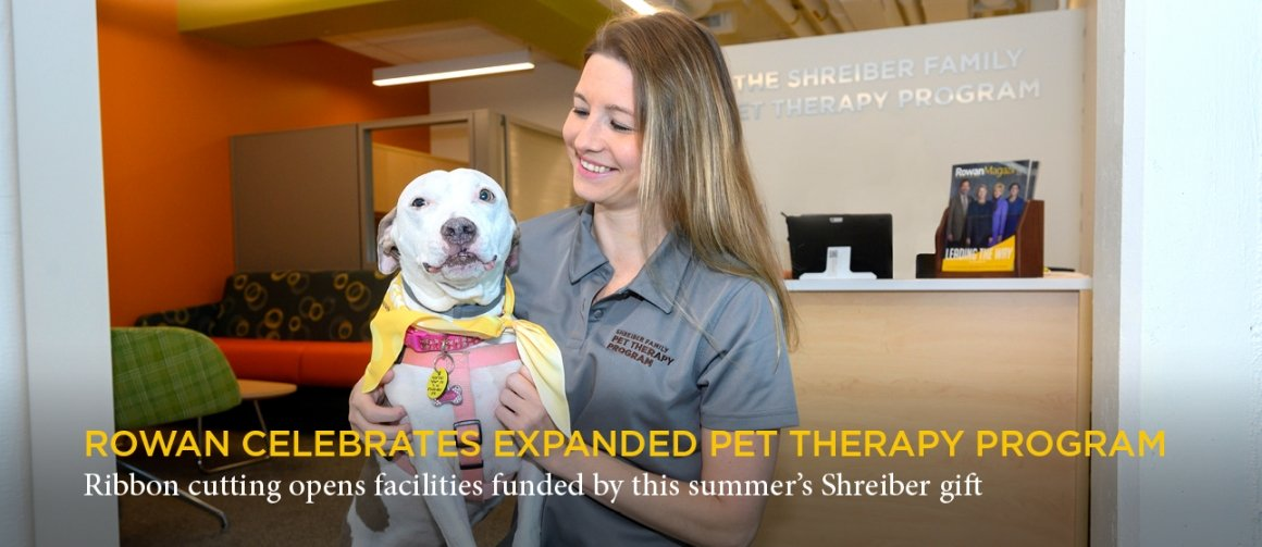 Shreiber Pet Therapy Center opens with ribbon cutting