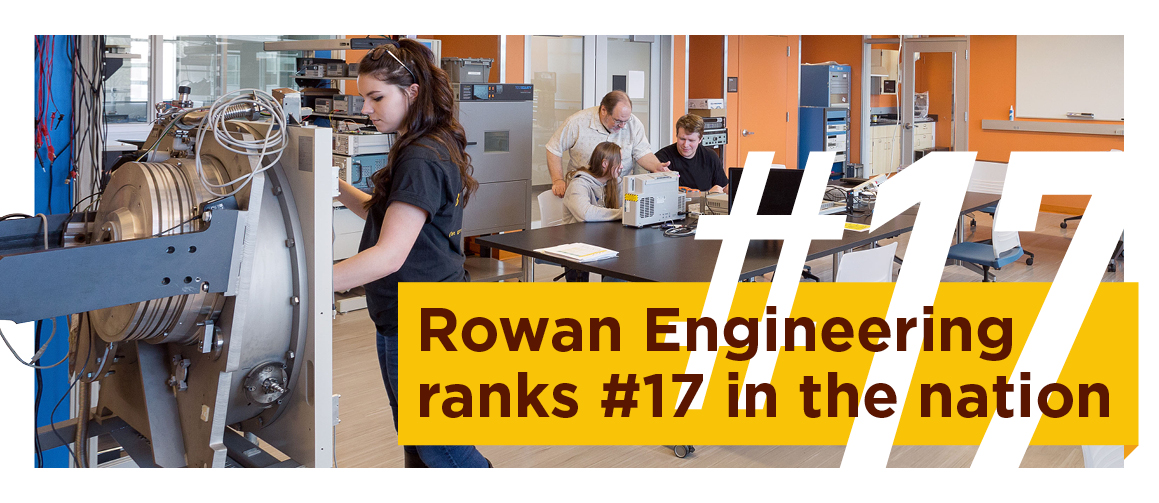 Rowan engineering program ranks 17th nationally