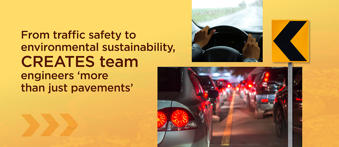 From traffic safety to environmental sustainability, CREATES team engineers more than just pavements